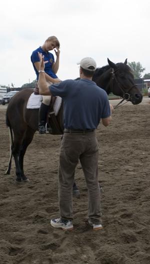 Confusing horse training jargon.